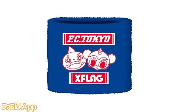 〈F.C.TOKYO × XFLAG〉リストバンド600