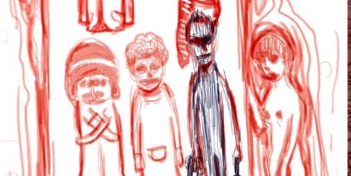 【新作】怪絵に秘められた人々の心理を解くアドベンチャー 『ブタをやった日』