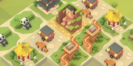 【新作】世界の名高い建造物を作り出すパズルゲーム最新作 『エイジオブ2048:世界』