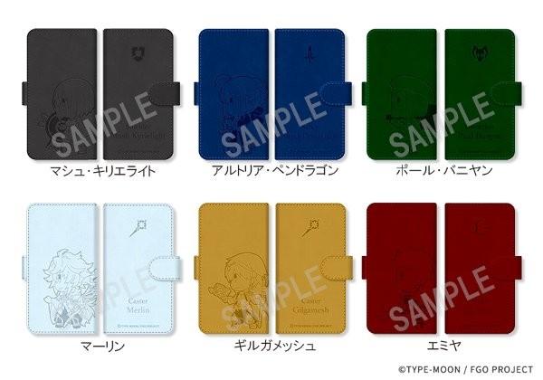 FateGrandOrder ぷちサバ!ばとる手帳型スマホケース