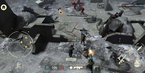 【新作】ゾンビが出るし瓦礫でも死ねる5vs5の爽快シューティング 『Tacticool』