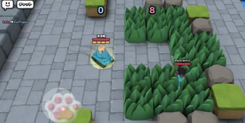 【新作】前方にネコ影あり!!自慢の戦車で腕を競いネコ缶を集める対戦ゲーム 『ねこ戦車』