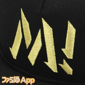 プロデューサーフラットバイザー_ミリオンライブ!Ver_正面刺繍アップ