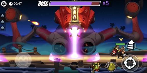 【新作】エイリアン襲撃!!オートロックで撃ち放題の本格横スクロールアクション 『Bombastic Brothers』