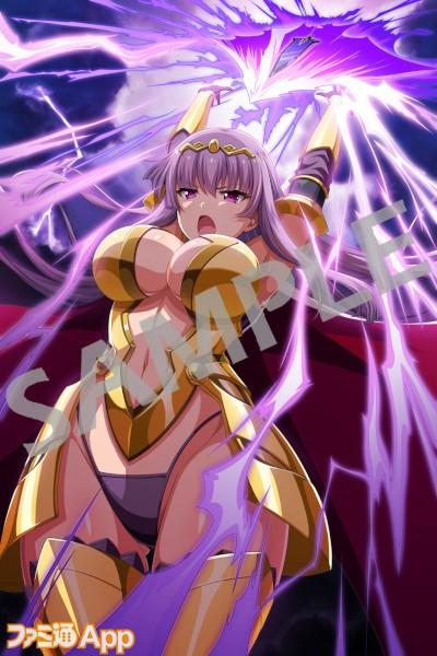 クローデット★5是、正に雷神の怒り