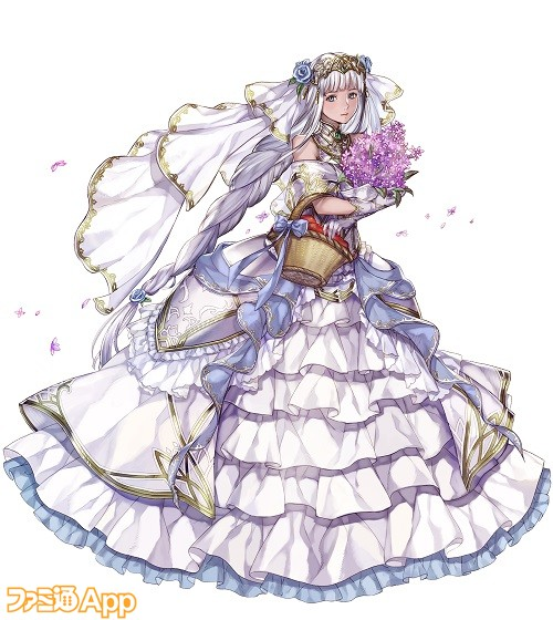 【VA】銀髪の花嫁