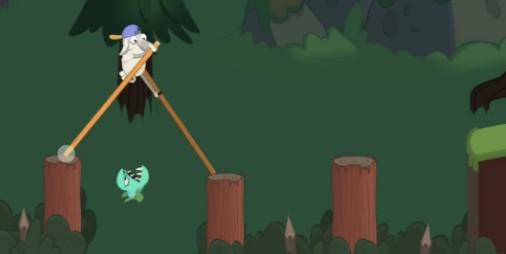 【新作】竹馬に乗って右左っ右左っ!!世界を旅するテクテクアクション『ウォークマスター』