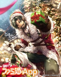 クリスマスモーリスカード_完成