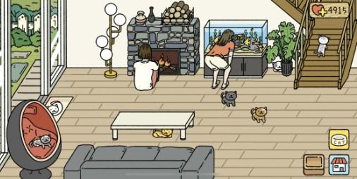 【新作】猫と犬と過ごす癒やしの毎日!!家族を増やして心を癒やす育成シミュレーション『かわいい住宅』