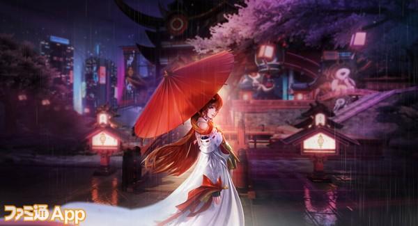 ストーリーには個性的なキャラクターが多数登場。1