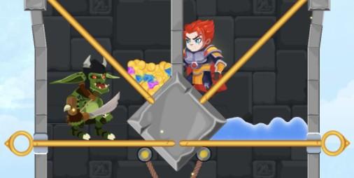 【新作】動画広告を賑わした架空のゲーム『Hero Rescue』がついに登場