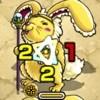 光_ウサギ
