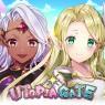 【配信開始】ふたりの女神から世界を任された!かわいいキャラクターと魔法世界を冒険する『ユートピア・ゲート~双子の女神と未来へのつばさ~』