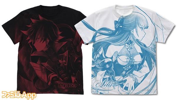 06_オールプリントTシャツ2種