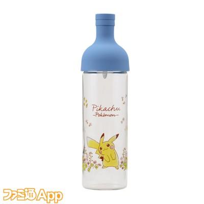 06.HARIO フィルターインボトル Flowers in full bloom ブルー