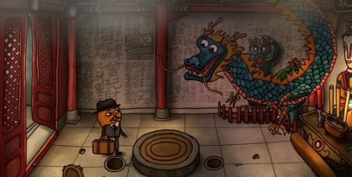 【新作】無法地帯の九龍城地区にひそめく謎を解き明かす本格アドベンチャー『Mr.パンプキン2 ウォールズ・オブ・クーロン』