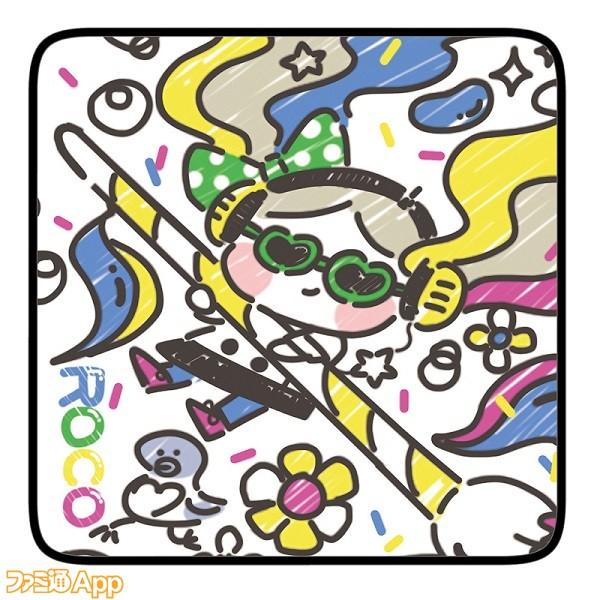 ロコのアーティスティックなハンドタオル