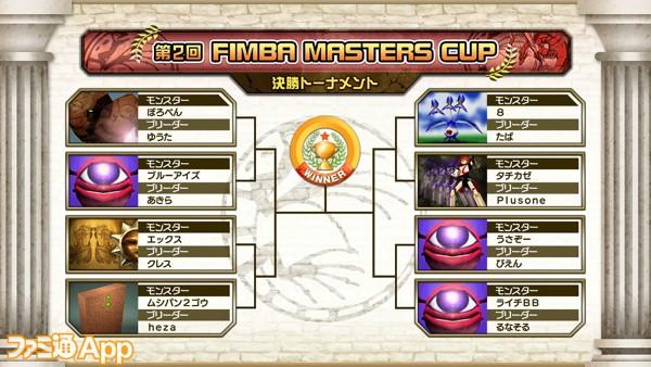 第2回 FIMBA MASTERS CUP ベスト8