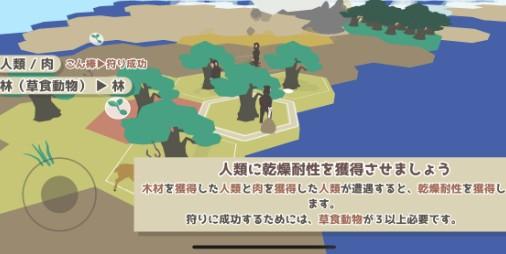 【新作】進化はロマン!! 原始時代をその手で歩み進化させていくシミュレーション『ホマロ!』