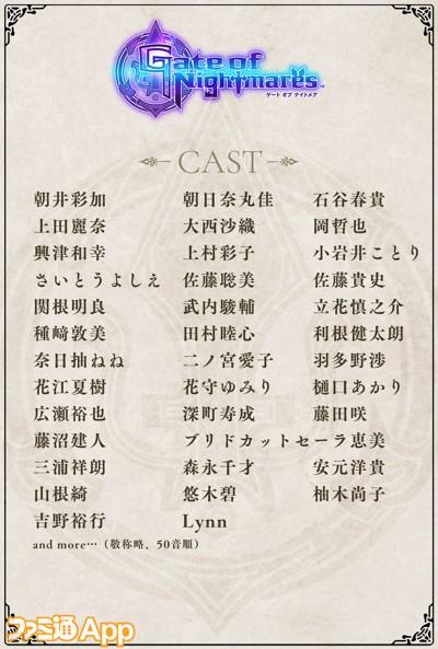10.声優陣紹介